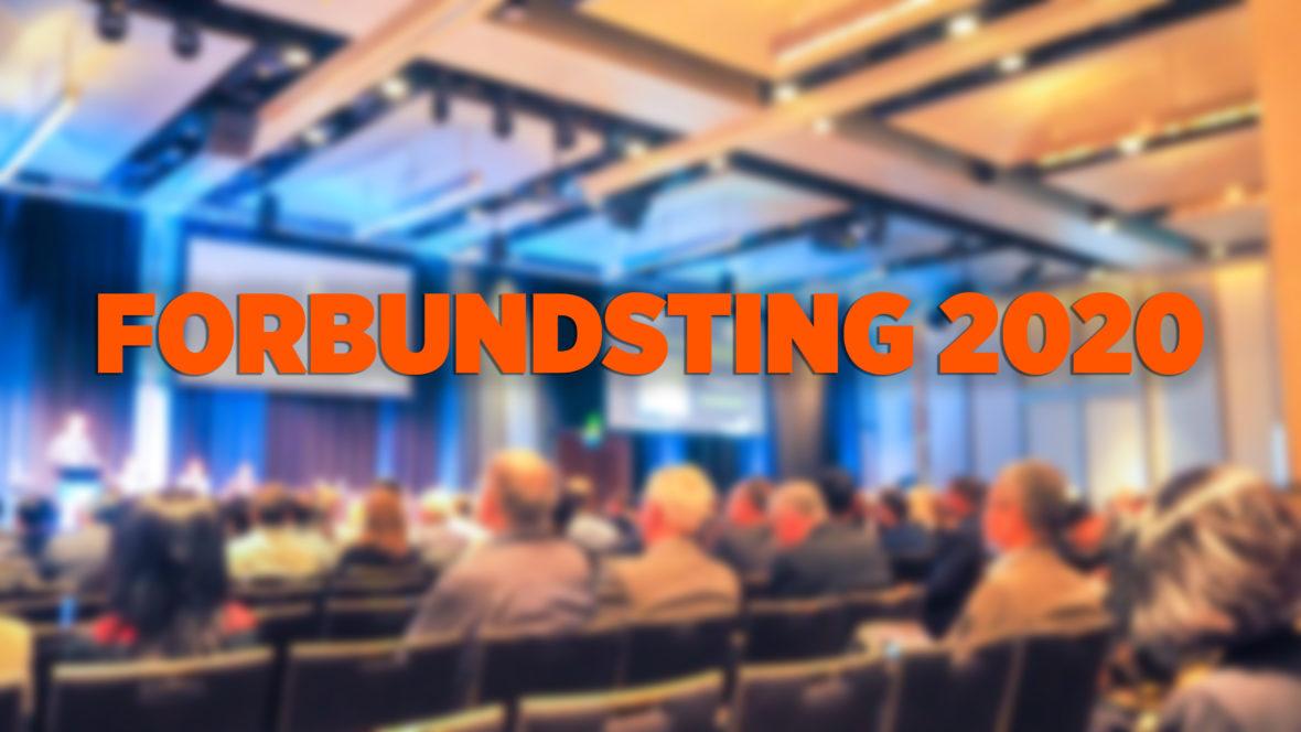 INNKALLING: FORBUNDSTING MED SEKSJONSMØTER 2020 - thumbnail