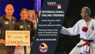 WKF: Velkommen til internasjonal Teams-trening! - thumbnail
