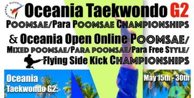 WT: Følg finalene i Oceania Online Poomsae Open LIVE - thumbnail