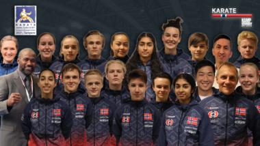 WKF: Stort norsk lag til helgens junior-EM - thumbnail
