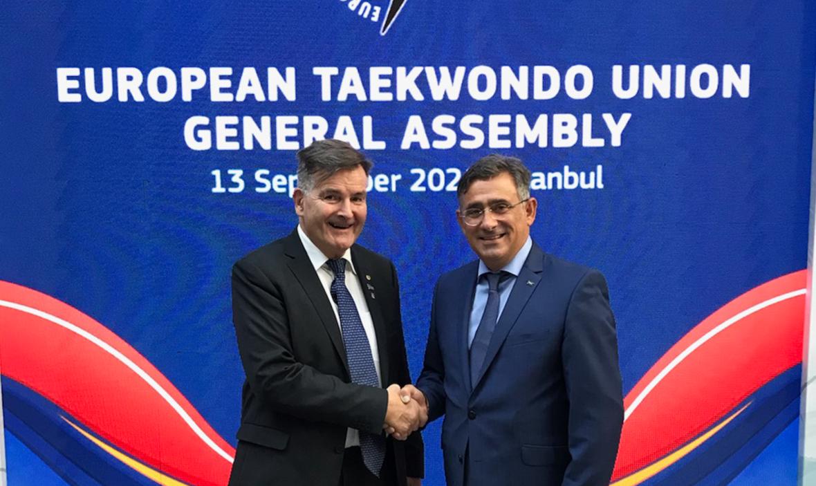 Trond Berg valgt inn i styret til det europeiske taekwondo-forbundet - thumbnail