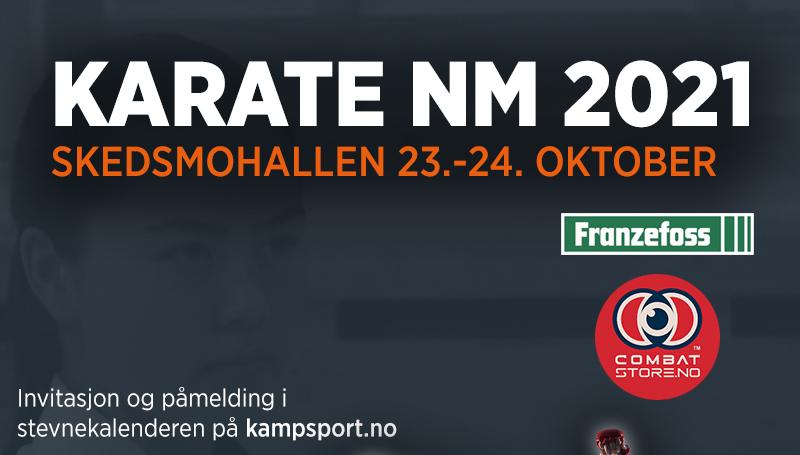 WKF: Utsatt påmeldingsfrist til årets karate-NM! - thumbnail