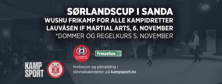 Wushu: Sørlandscup og dommer/regelkurs i Sanda - thumbnail
